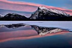 Τοποθετήστε το χειμώνα Rundle Στοκ Εικόνες