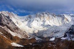 Τοποθετήστε Annapurna, από το νότιο στρατόπεδο βάσεων Annapurna Στοκ φωτογραφία με δικαίωμα ελεύθερης χρήσης
