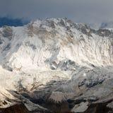 Τοποθετήστε Annapurna, από το νότιο στρατόπεδο βάσεων Annapurna Στοκ Φωτογραφία