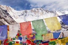 Τοποθετήστε Annapurna από το στρατόπεδο βάσεων Annapurna, Νεπάλ Στοκ φωτογραφίες με δικαίωμα ελεύθερης χρήσης