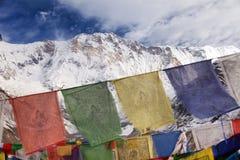 Τοποθετήστε Annapurna από το στρατόπεδο βάσεων Annapurna, Νεπάλ Στοκ Φωτογραφίες