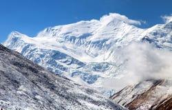 Τοποθετήστε Annapurna 3 ΙΙΙ, σειρά Annapurna Στοκ Εικόνες