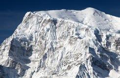 Τοποθετήστε Annapurna 3, στρογγυλό ίχνος οδοιπορίας κυκλωμάτων Annapurna Στοκ Εικόνα
