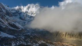 Τοποθετήστε Annapurna απόθεμα βίντεο