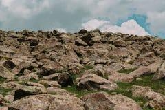Τοποθετήστε Aragats, Αρμενία Στοκ φωτογραφία με δικαίωμα ελεύθερης χρήσης