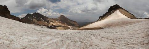 Τοποθετήστε Aragats, Αρμενία Στοκ Εικόνες