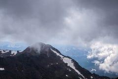 Τοποθετήστε Bierstadt στα σύννεφα Στοκ φωτογραφία με δικαίωμα ελεύθερης χρήσης