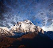 Τοποθετήστε Dhaulagiri, Νεπάλ Ιμαλάια Στοκ Εικόνα