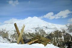 Τοποθετήστε Elbrus Στοκ φωτογραφίες με δικαίωμα ελεύθερης χρήσης