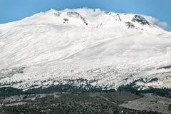 Τοποθετήστε Etna (ηφαίστειο) Στοκ Εικόνα