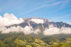 Τοποθετήστε Kinabalu Sabah κατά τη διάρκεια της ημέρας στοκ εικόνες
