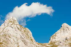 Τοποθετήστε Mangart, Σλοβενία Στοκ Φωτογραφία