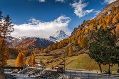 Τοποθετήστε Matterhorn από Zermatt Στοκ Φωτογραφία