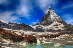 Τοποθετήστε Matterhorn στην Ελβετία Στοκ Φωτογραφίες