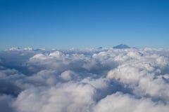 Τοποθετήστε Rinjani από τον ουρανό Στοκ Εικόνες