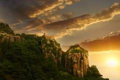 Τοποθετήστε Tai, Shandong, Κίνα στοκ εικόνες με δικαίωμα ελεύθερης χρήσης