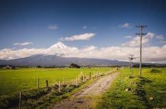 Τοποθετήστε Taranaki, το Φούτζι της Νέας Ζηλανδίας Στοκ Εικόνες