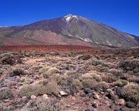 Τοποθετήστε Teide, Tenerife. Στοκ εικόνες με δικαίωμα ελεύθερης χρήσης