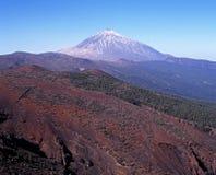 Τοποθετήστε Teide, Tenerife. Στοκ Εικόνες