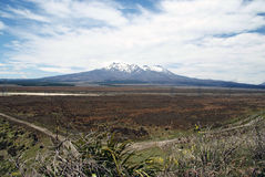 Τοποθετήστε Tongariro Στοκ Εικόνα