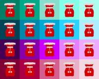 τοποθετεί πολύ Nicholas κόκκιν&omicro απεικόνιση αποθεμάτων