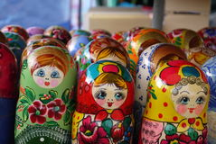 Τοποθετημένη κούκλα κούκλα Στοκ φωτογραφία με δικαίωμα ελεύθερης χρήσης