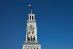 τοποθετημένη κωμόπολη πύργων του Περθ ρολογιών πόλεων της Αυστραλίας αίθουσα δυτική Στοκ εικόνα με δικαίωμα ελεύθερης χρήσης