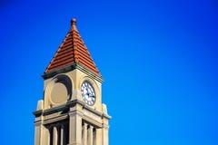 τοποθετημένη κωμόπολη πύργων του Περθ ρολογιών πόλεων της Αυστραλίας αίθουσα δυτική Στοκ Φωτογραφία