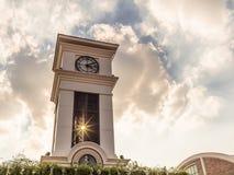 τοποθετημένη κωμόπολη πύργων του Περθ ρολογιών πόλεων της Αυστραλίας αίθουσα δυτική Στοκ φωτογραφίες με δικαίωμα ελεύθερης χρήσης