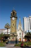 τοποθετημένη κωμόπολη πύργων του Περθ ρολογιών πόλεων της Αυστραλίας αίθουσα δυτική Antofagasta Χιλή Στοκ Φωτογραφίες
