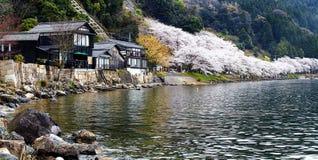 Τοποθετημένος στο takashima-Cho Kaizu Makino νομαρχιακών διαμερισμάτων Shiga Στοκ Εικόνες