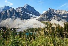 τοποθετημένο λίμνη εθνικό πάρκο του Καναδά τόξων Αλμπέρτα banff στοκ φωτογραφία