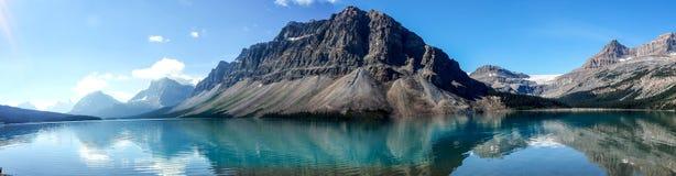 τοποθετημένο λίμνη εθνικό πάρκο του Καναδά τόξων Αλμπέρτα banff Στοκ φωτογραφία με δικαίωμα ελεύθερης χρήσης