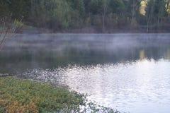 Τοποθετημένο κατά μήκος του ρωσικού ποταμού, το περιφερειακό πάρκο Riverfront είναι ακριβώς πρακτικά από στο κέντρο της πόλης Win Στοκ Φωτογραφία