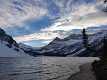 τοποθετημένο λίμνη εθνικό πάρκο του Καναδά τόξων Αλμπέρτα banff στοκ εικόνα με δικαίωμα ελεύθερης χρήσης