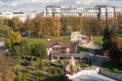 Τοπ άποψη από τη ρόδα Ferris Στοκ Εικόνα