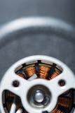 Τοπ άποψη λεπτομερές armature μηχανών Στοκ Εικόνα