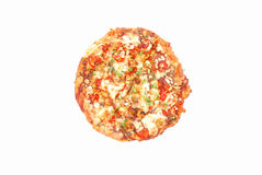 Πίτσα κοτόπουλου Tikka Στοκ Εικόνα