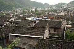 Τοπ άποψη της αρχαίας πόλης Fenghuang Στοκ Φωτογραφίες