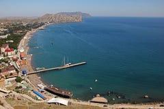 Τοπ άποψη της θάλασσας στοκ φωτογραφία με δικαίωμα ελεύθερης χρήσης