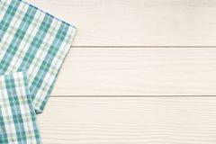 Τοπ άποψη της πετσέτας Στοκ Φωτογραφίες
