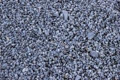 Τοπ άποψη της συντριμμένης σύστασης πετρών Πολλές μικρές πέτρες γρανίτη Στοκ φωτογραφία με δικαίωμα ελεύθερης χρήσης