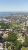 Τοπ άποψη της υποδομής του αστικού Σίδνεϊ, Αυστραλία Στοκ Εικόνα