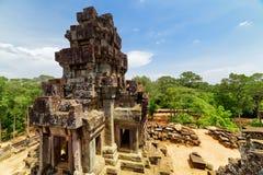 Τοπ άποψη του αρχαίου prang στο ναό TA Keo angkor Καμπότζη Στοκ φωτογραφίες με δικαίωμα ελεύθερης χρήσης