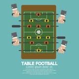 Τοπ άποψη του επιτραπέζιου ποδοσφαίρου Στοκ εικόνες με δικαίωμα ελεύθερης χρήσης