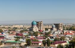 Τοπ άποψη του μουσουλμανικού τεμένους bibi-Khanym στοκ φωτογραφία