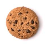 Τοπ άποψη του μπισκότου τσιπ σοκολάτας Στοκ Εικόνες