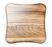 τοπ άποψη του ξύλινου σκαμνιού Στοκ Εικόνα