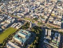 Τοπ άποψη του Ουέλλινγκτον Νέα Ζηλανδία στοκ εικόνα