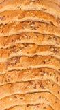 Τοπ άποψη του τεμαχισμένου ψωμιού στοκ εικόνες με δικαίωμα ελεύθερης χρήσης